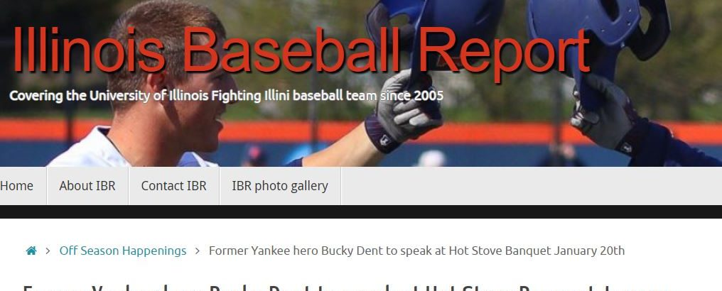 New year brings new look for Illinois Baseball Report